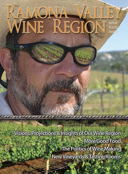 Ramona Vally Wine Region Magazine -- May 2015